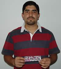Ganador de una entrada al concierto de Hombres G .- Pablo Xavier Salamea Molina participó y ganó una entrada al concierto de Hombres G en Cuenca