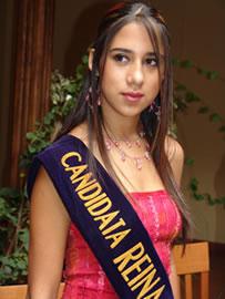 Silvia Vélez candidata a Reina de Cuenca 2004 .- 20 años, auspiciada por la Universidad Panamericana de Cuenca