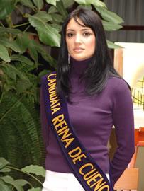 Dayana Valdivieso candidata a Reina de Cuenca 2004 .- Tiene 22 años, auspiciada por ACE Seguros