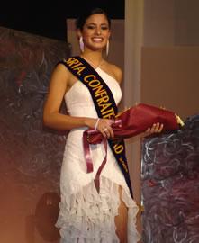 Jessica Rodríguez candidata a Reina de Cuenca 2004 .- Jessica Rodríguez fue electa Señorita Confraternidad y acompañará a la reina de Cuenca en todas sus funciones