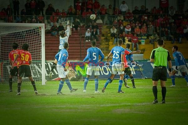 Deportivo Cuenca vs Emelec 26 de Mayo del 2010 .- En el Estadio Alejandro Serrano Aguilar de la ciudad de Cuenca, el equipo local derroto a los electrocos por la diferencia de 2 goles a 0.