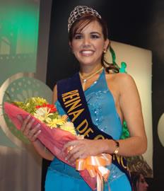 Verónica Ochoa Reina de Cuenca 2004-2005 .- Verónica Ochoa será la representante de la belleza cuencana durante el período 2004 2005