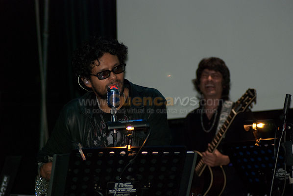 Robi Draco Rosa .- Robi Draco Rosa vino de visita a Cuenca e intrepreto este magnifico concierto.