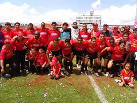 Deportivo Cuenca Campeón Temporada 2004 .- Luego de la premiación como Campeón del Fútbol Ecuatoriano el Club Deportivo Cuenca tuvo que enfrentar al equipo del Olmedo en su penúltimo partido, este fue el equipo titular para este cotejo.