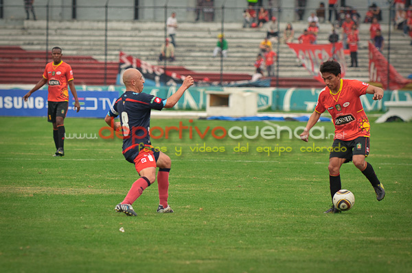 Deportivo Cuenca vs Nacional 12 de Septiembre del 2010 .- Nuestro equipo rojo no pudo ante el Nacional que logro empatar en el partido a realizarse en el estadio Alejandro Serrano Aguilar de la ciudad de Cuenca el 12 de Septiembre del 2010.