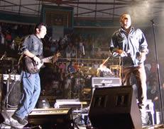 Concierto de Cruks en Karnak en Cuenca 2005 .- La banda inició su carrera en 1989.