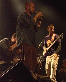 Concierto de Cruks en Karnak en Cuenca 2005 .- El último trabajo discográfico del grupo se titula 13 Gracias