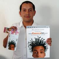 Ganadora de una entrada al concierto de Café Tacvb .- Cristian Esteban Ledesma participó y ganó una entrada al concierto de Café Tacvba en Cuenca