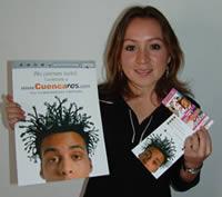 Ganadora de una entrada al concierto de Café Tacvb .- Priscila Fernanda Andrade participó y ganó una entrada al concierto de Café Tacvba en Cuenca