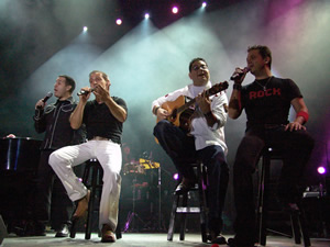 Concierto Franco de Vita en Cuenca .- El publico que se dio cita en el Coliseo Mayor el 31 de Julio del 2005, disfruto un Show de Calidad