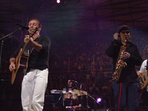 Concierto Franco de Vita en Cuenca .- El publico que se dio cita en el Coliseo Mayor la noche del 31 de Julio del 2005, disfruto un Show de Calidad