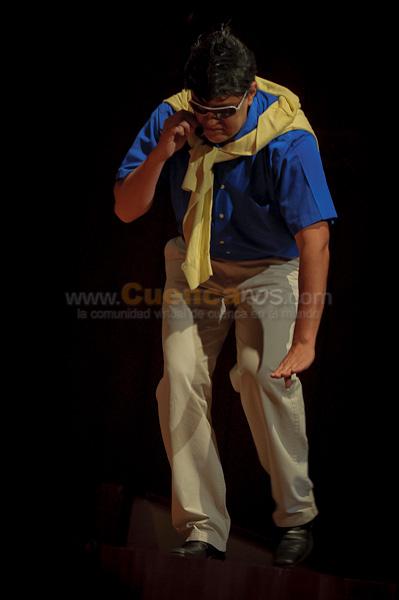 Alfredo Campo .- Uno de los Cuencanos que mejor ha hecho quedar a la ciudad es Alfredo Campo, La Actuación y su tremenda habilidad para producir voces ha hecho que este talentoso  Cuencano tenga su propio programa de Televisión, ahora en nuestra ciudad ofrece su show comico que nadie puede perderse.