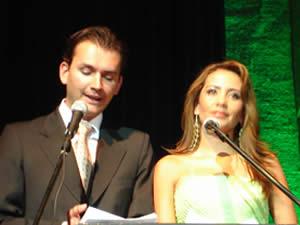 Elección de la Reina del Azuay 2005 .- El Evento contó con la conducción de Cristian Norris y Ana María Apolo