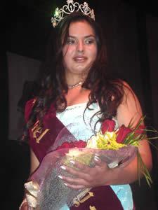 Elección de la Reina del Azuay 2005 .- Verónica Iñiguez, Reina del Azuay 2005