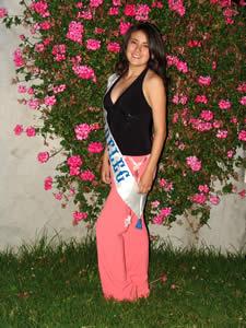 Elección de la Reina del Azuay 2005 .- Anita Cecilia Samaniego, representante del Cantón Chordeleg
