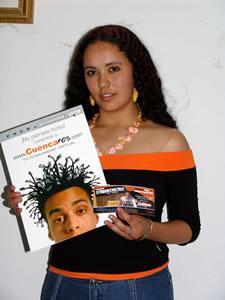 Ganadores de Entradas al Concierto con Alex Campos y Misión Vida en Cuenca .- Diana Mena Avila participo y ganó una entrada al Concierto con Alex Campos y Misión Vida en Cuenca