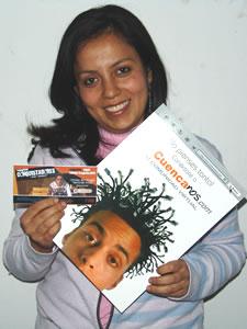 Ganadores de Entradas al Concierto con Alex Campos y Misión Vida en Cuenca .- Andrea Valverde Orellana participo y ganó una entrada al Concierto con Alex Campos y Misión Vida en Cuenca