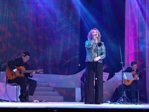 Elección de la Reina de Cuenca 2005 .- La parte artística estuvo a cargo del grupo Quimera que puso la nota romántica de la noche