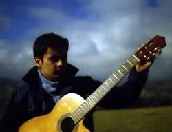 David Cañizares .- David Cañizares, quien lleva adelante una amplia trayectoria artística, iniciada en su época de estudiante en el colegio Asunción, a los 12 años.