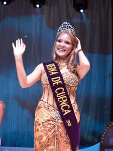 Elección de la Reina de Cuenca 2005 .- Ana María Crespo, Reina de Cuenca 2005