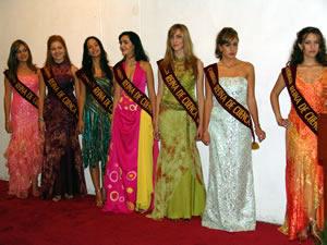 Elección de la Reina de Cuenca 2005 .- En el Museo de Arte Moderno se ofreció un cóctel en honor a las candidatas a Reinas de Cuenca 2005