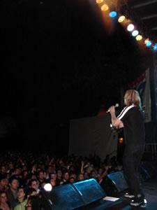 Vilma Palma y Vampiros .- Una banda tiene éxito cuando se da la mano con la gente y se divierte en el escenario