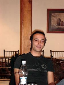Vilma Palma y Vampiros .- Abiertos al dialogo y posar para la cámara de www.Cuencanos.com, la que les va a dar un digno homenaje por su grandioso talento