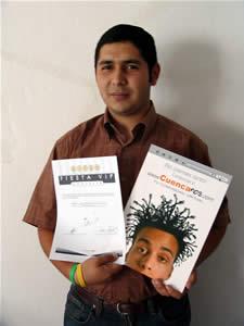 Ganadores de Entradas a la Fiesta Vip de la Universidad del Azuay .- José Alberto Burneo Castro participo y ganó una entrada a la Fiesta Vip Organizada por la Facultad de Ciencias de Administración de la Universidad del Azuay