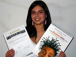 Ganadores de Entradas a la Fiesta Vip de la Universidad del Azuay .- Stephanie Paz Ordóñez Piedra participo y ganó una entrada a la Fiesta Vip Organizada por la Facultad de Ciencias de Administración de la Universidad del Azuay