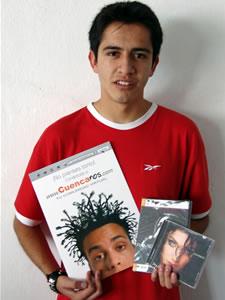 Ganadores de Dvd, Cd y Posters autografiados de Pamela Cortéz .- Lenin Mauricio Montenegro Gallegos participo y ganó un Dvd, Cd y Poster autografiados de Pamela Cortéz