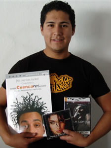 Ganadores de Dvd, Cd y Posters autografiados de Pamela Cortéz .- Pedro Omar Montaño Verdugo participo y ganó un Dvd, Cd y Poster autografiados de Pamela Cortéz