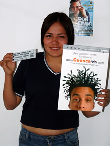 Ganadores de Entradas al Concierto de Don Omar en Cuenca .- Natalie Estefanía Chica Prado participo y ganó una entradas al Concierto de Don Omar en Cuenca