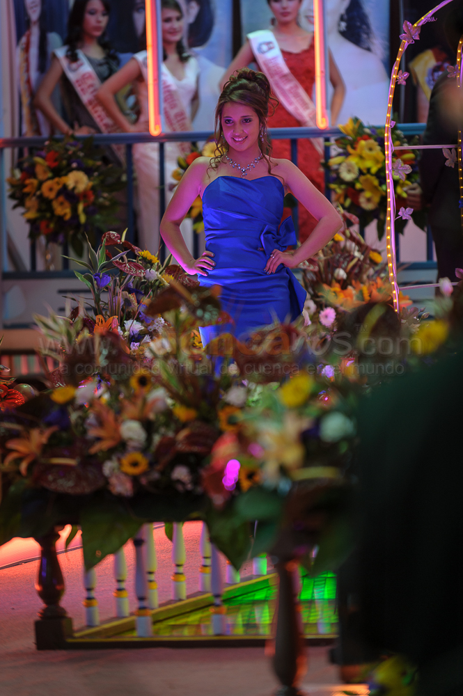 Candidatas a Morlaquita 2013 .- El Martes 2 de Abril en la Estancia Cersar Cordero se realizó la presentación de las 40 hermosas candidatas a Morlaquita 2013, una por una de las quinceañeras desfilaron y mostraron su belleza frenta al publico, padres de familia y cámaras de Telecuenca.