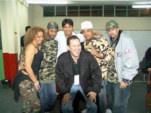 Don Omar en Cuenca .-