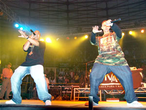 Don Omar en Cuenca .- Luego la carrera musical de Trébol Clan continuó con gran fuerza, gracias a una serie de intervenciones en otras producciones discográficas de varios artistas como 'Gárgolas (Vol.2, 3, 4), 'Fatal Fantasy (Vol.1, 2,3)', 'The Godfather', 'Buddhas Family, 'Boricuas NY Vol.2', 'Playero 42', 'LunyTunes Mas Flow' (más de 150,000 copias vendidas) y 'Don Omar The Last Don' (más de 325,000 copias vendidas).