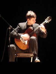 1er Festival Internacional de Guitarra Clásica Cuenca .- Nacido en Treviso-Italia