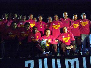 Noche Colorada 2006 .- La mayoría de estos jugadores se formaron en las divisiones menores del Club, con el recordado proyecto de los 3000 Días mentalizado por el argentino Daniel Jozami.