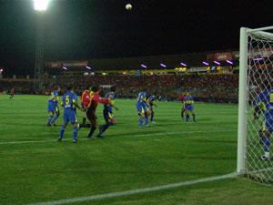 Copa Toyota Libertadores 2005 .- Deportivo Cuenca vs. Boca Junior jugado el 17 de Febrero del 2005 por la Copa Toyota Libertadores de America