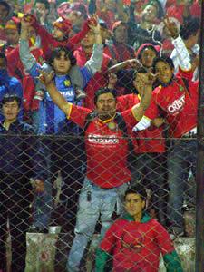 Temporada 2005 .- Los 16 mil espectadores que presenciaron el cotejo se mostraron molestos por el arbitraje de Carlos Morales. El réferi se mostró permisivo a la hora de impartir justicia. Así también estuvo errado en algunas jugadas que no se merecían sanción.