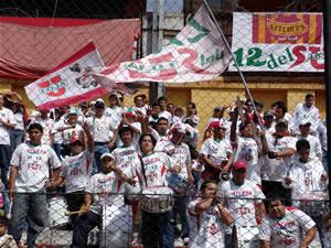 Temporada 2005 .- Una gran hinchada de Liga de Loja se dio cita en el Alejandro Serrano Aguilar, para apoyar a su equipo