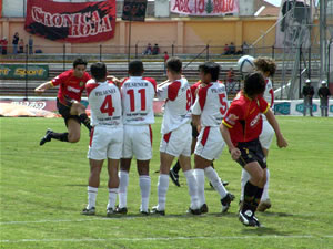 Temporada 2005 .- El Cuenca que mostró un esquema de 4-4-2,-similar al del rival- tuvo algunas dificultades en el área contraria, debido al achique de cancha al que eran expuestos.