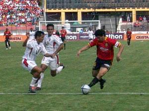 Temporada 2005 .- En ese instante los colorados empezaron a poner un fútbol bullidor, rápido y con desborde por las bandas