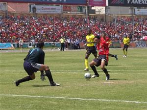Temporada 2005 .- Para las instancias finales, Matamoros, quien sustituyó a Ascencio (55´), tuvo es sus pies la tercera anotación. El delantero solo frente al portero Cevallos estrelló el esférico en el pecho del guardameta, el aficionado ya cantaba el 3 a 0.