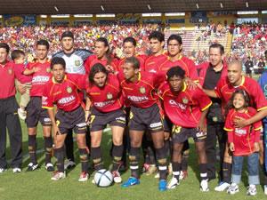 Temporada 2005 .- El Domingo 27 de febrero del 2005 se jugó la tercera fecha del campeonato ecuatoriano de fútbol entre Deportivo Cuenca y Barcelona en el Estadio Alejandro Serrano Aguilar.