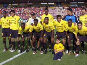 Temporada 2005 .- El Equipo rival de este encuentro es Barcelona de Guayaquil que para principios de esta Temporada presenta figuras de altísimo nivel
