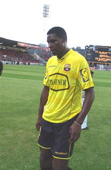 Temporada 2005 .- Otras de las Figuras de Barcelona 2005 fue Agustín Delgado
