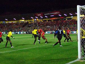 Temporada 2005 .- El partido resulto muy entretenido y dinámico, pero sin goles. Barcelona sacó un punto valioso en la ciudad de Cuenca