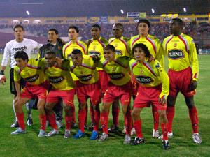 Temporada 2005 .- El Conjunto del Aucas se presento con la necesidad de aumentar sus puntos en la liguilla de la Temporada 2005