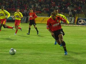 Temporada 2005 .- El conjunto local tenía problemas en asociar sus líneas; jugadores como Ascencio y Quiñónez tenían dificultades para llegar hacia el área contraria