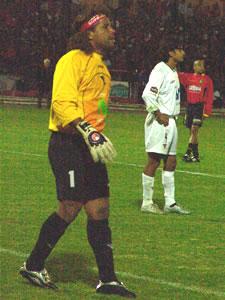 Temporada 2005 .- Sobre el minuto 11, el portero Mora, sufrió una lesión, lo que le obligó a ser remplazado por Espinosa, quien sufriría la lluvia de goles que le propinaron los cuencanos.